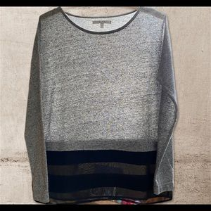 """Grey & black top. Light weight ."""" Alfred Sung"""